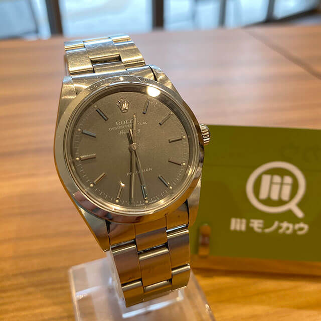 モノカウ心斎橋店にて堀江のお客様からロレックスの腕時計【エアキング】を買取_01