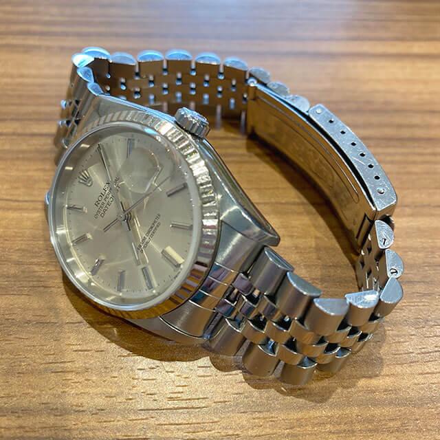 モノカウ心斎橋店にて上本町のお客様からロレックスの腕時計【デイトジャスト】を買取_03