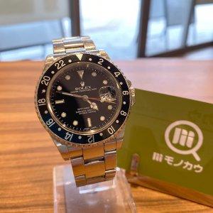 モノカウ玉造店にて天王寺のお客様からロレックスの腕時計【GMTマスターⅡ】を買取