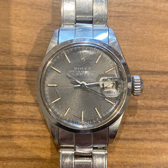 八王子のお客様から宅配買取にてロレックスの腕時計【オイスターパーペチュアル】を買取_02