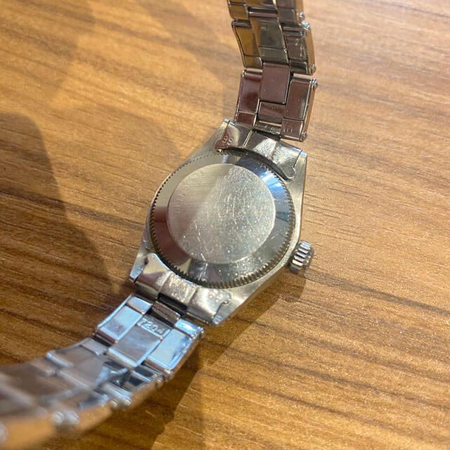 八王子のお客様から宅配買取にてロレックスの腕時計【オイスターパーペチュアル】を買取_03