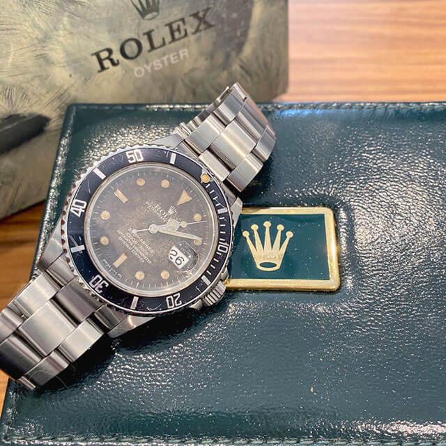 練馬のお客様から宅配買取にてロレックスの腕時計【サブマリーナ】を買取_02