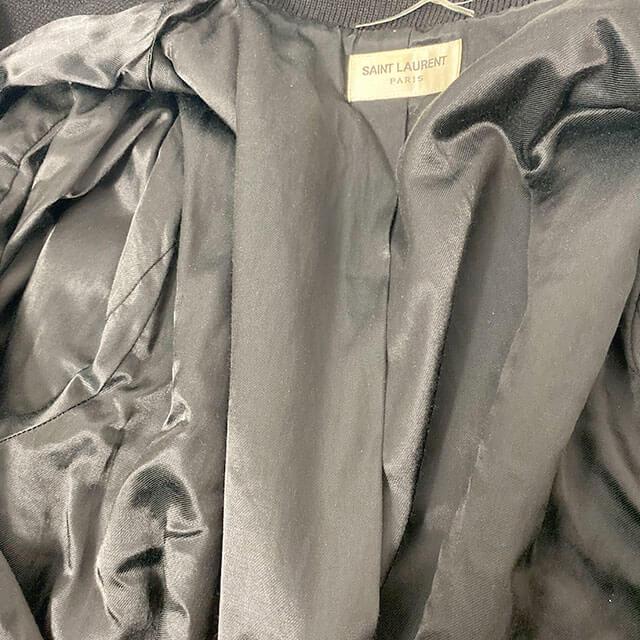 モノカウ玉造店にて羽曳野のお客様からサンローランの【テディジャケット】を買取_03