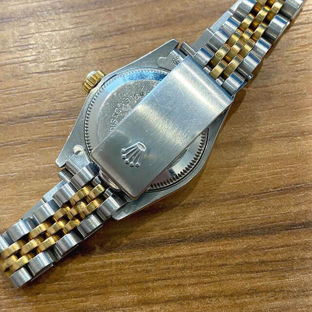 東京のお客様から宅配買取にてロレックスの腕時計【デイトジャスト】を買取_03
