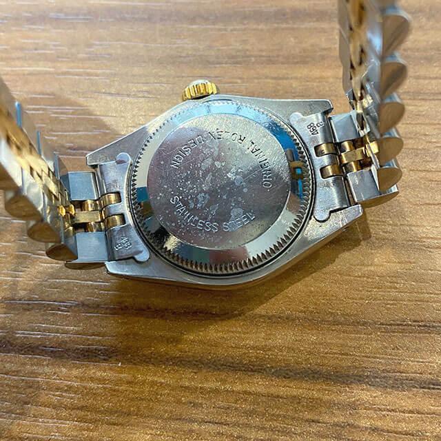 東京のお客様から宅配買取にてロレックスの腕時計【デイトジャスト】を買取_04