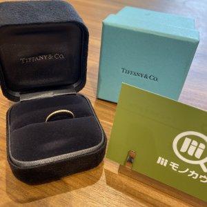 モノカウ玉造店にて東成のお客様からティファニーのダイヤリング【メトロフルサークル】を買取